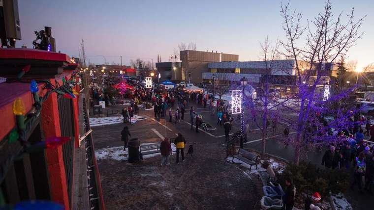 Cochrane Light Up – A Community First Event